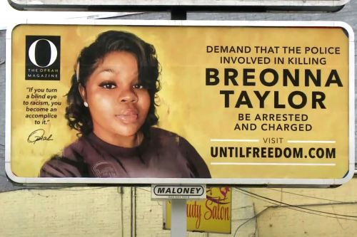 Oprah buys billboards demanding justice for Breonna Taylor in Kentucky