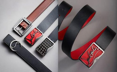 Christian Louboutin launches belts for men