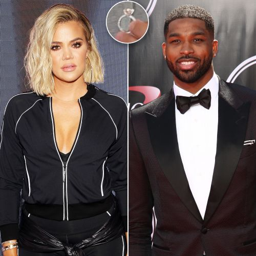 Khloé Kardashian Reveals Tristan Thompson Gave Her a Pink Diamond Ring in 'KUWTK' Trailer