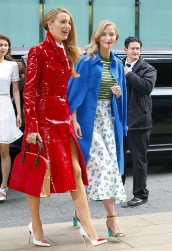 6 Stylish Spring Coats Celebrities Are Sporting This Season