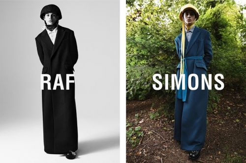 Raf Simons Spotlights FW19 Collection In New Campaign Imagery