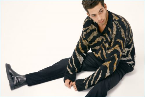 Antoine Lorvo Rocks Animal Prints for Modern Luxury Cover Story
