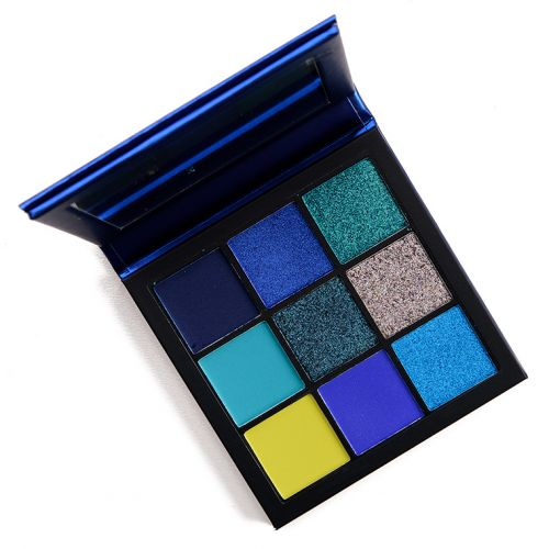 Huda Beauty Sapphire Obsessions Eyeshadow Palette Review & Swatches