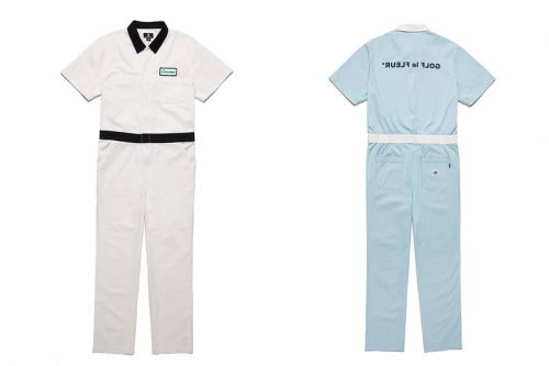 """The Converse GOLF le FLEUR* """"Industrial"""" Is Releasing With Matching '60s Workwear Jumpsuits"""