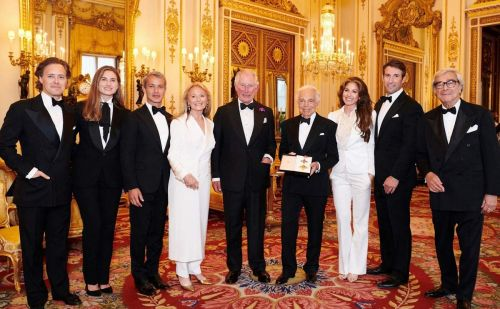 Ralph Lauren receives honorary knighthood for services to fashion