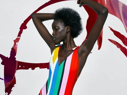 Wear The Rainbow With These 17 Color-Drenched Swimsuits