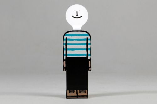Jean Jullien's 'Bright Idea Lamp' Gets Remade into a Hand-Painted Edition