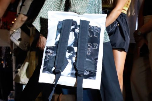 Raf Simons Previews SS19 Eastpak Collaboration During Paris Fashion Week