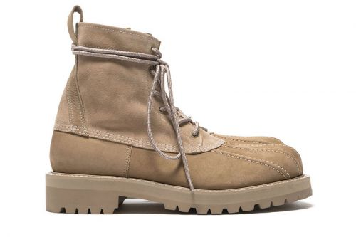 UNDERCOVER Drops Cowhide Suede Duck Boots