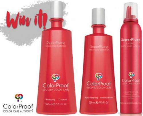 Win It! ColorProof SuperPlump Haircare Collection Giveaway