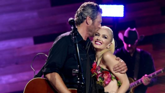Blake Shelton And Gwen Stefani Pack On PDA At Halloween-Themed Party With Her Kids