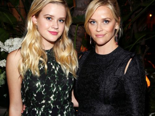 Reese Witherspoon's Daughter Ava Stuns In Longsleeve Ballgown At Her Debut