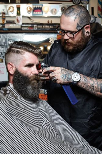 In the Shop: The Proper Barbershop, Los Angeles and Orange, California