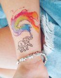 25 Rainbow Tattoo Ideas That Will Colour Your World
