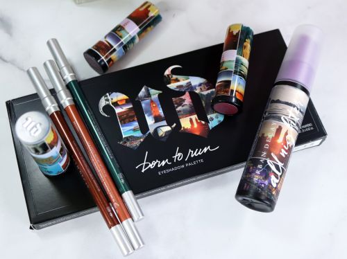 Urban Decay Born to Run Collection Swatches and Review