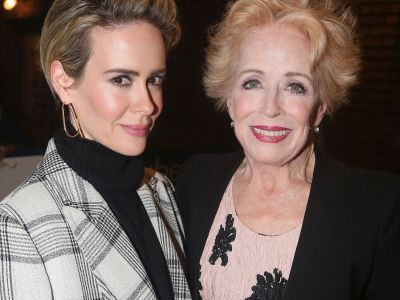 Sarah Paulson's Girlfriend Holland Taylor Won't Watch Her On American Horror Story For This Sweet Reason