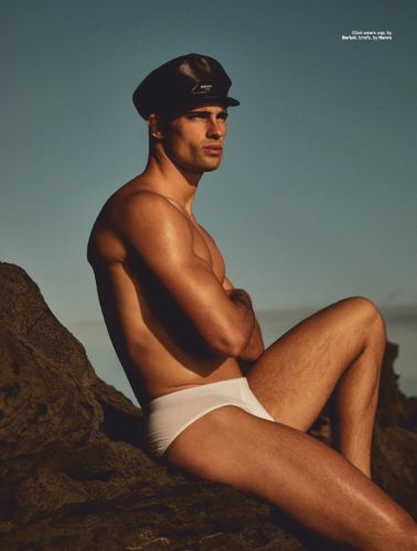 Water Sign: Elliot Meeten Heads to Madeira in Swimwear for Attitude