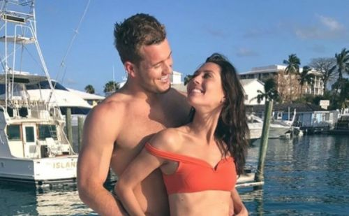 Colton Underwood's Dad Brings up Tia Booth Again to 'Bachelorette' Becca During Hometowns!