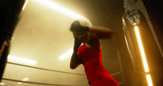 Watch Teyana Taylor Beat Up a Boxing Bag in Lingerie for 'Love' Advent