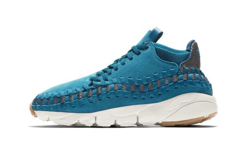 Nike's Air Footscape Woven Chukka Returns in a Striking Blue Colorway