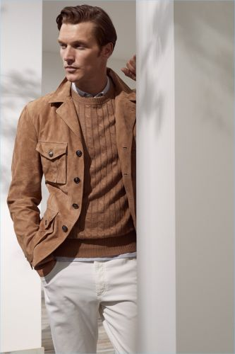 Brunello Cucinelli Reinterprets Gatsby Style for Spring '19 Collection