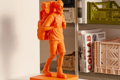 Medicom Toy Revives Mountain Research's 'Mountain Man' Figure in Vivid Orange