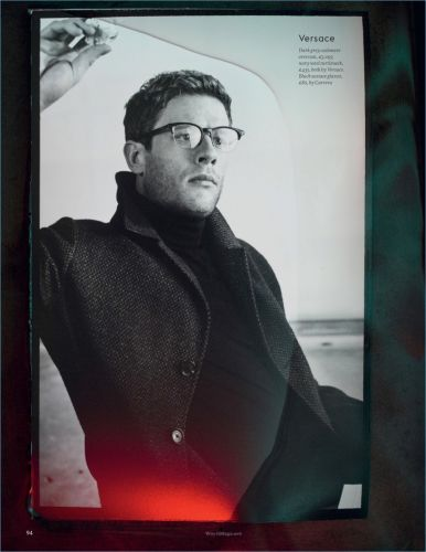 Cold Comfort: James Norton Stars in Esquire UK Fashion Shoot