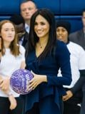 Meghan Markle Just Straightened Her Hair For the First Time Since Becoming a Royal