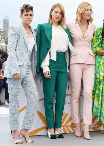 The Pastel Pantsuits Are Really, Really Good at the Cannes Film Festival