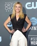 The Genius Way Julia Roberts Repurposed Last Week's Manicure For the Critics' Choice Awards