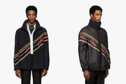 Fendi Unveils Hefty Reversible Shearling Jacket With Vibrant Strike-Throughs