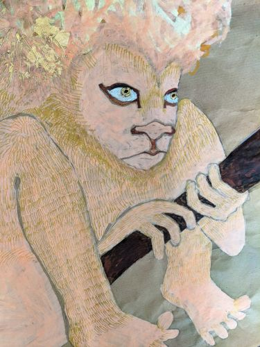 The Artist Using St. Jerome and the Lion to Redress Patriarchal Power