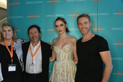 Business Building and Artistic Education with Sweis Inc. and Moroccanoil
