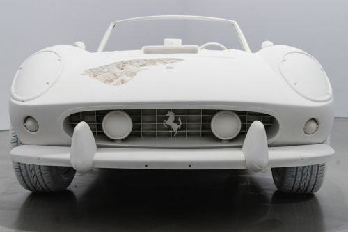 Daniel Arsham Cast One of the Most Beautiful Ferraris Ever Made for Latest Exhibition