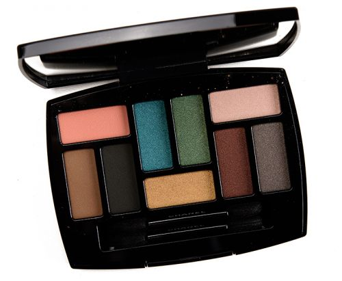 Chanel Affresco Les 9 Ombres Multi-Effects Eyeshadow Palette Review, Photos, Swatches
