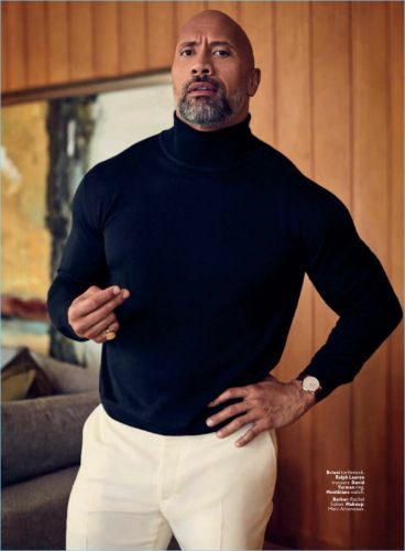 Dwayne 'The Rock' Johnson is Seriously Chic for InStyle Shoot