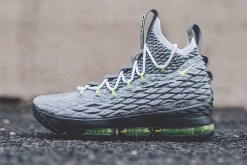 "A Closer Look at the Nike LeBron 15 ""Neon 95"""