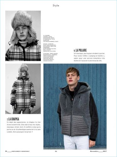 Roberto Sipos Rocks Outerwear for GQ France