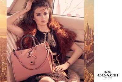 Selena Gomez stars in Coach Fall 2017