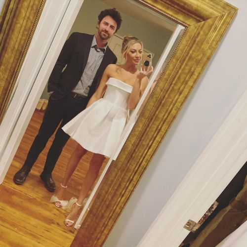 'Pump Rules' Alum Stassi Schroeder's Fiance Beau Clark Shares New Pregnancy Photo for Their Anniversary