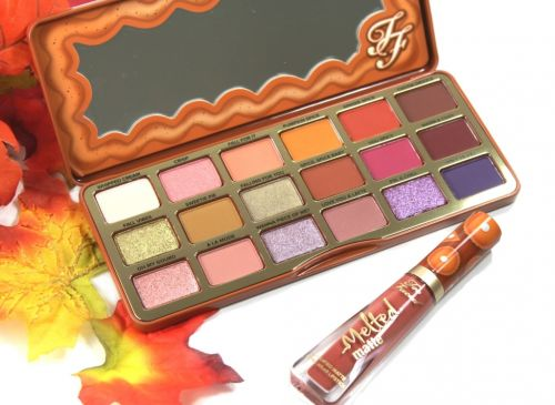 Warm & toasty: The Too Faced Cosmetics Pumpkin Spice Collection