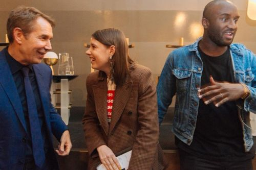 "Virgil Abloh & Jeff Koons Participate in Live ""Art Talks"" Discussion"