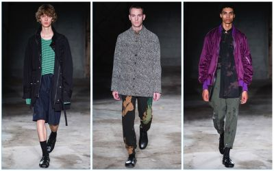Damir Doma Plays with Prints for Spring '18 Collection