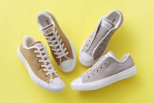 Converse Japan to Release Chuck Taylor All Star Slip in Fleece Options