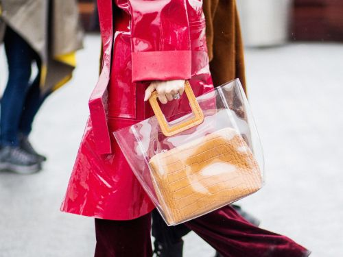 See-Through Bags Have Taken Over The Streets