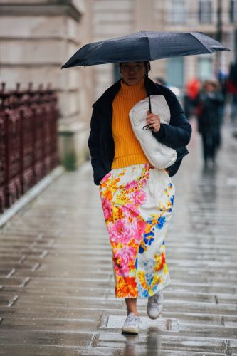 58 Ways London's Street Stylers Dress For The Rain