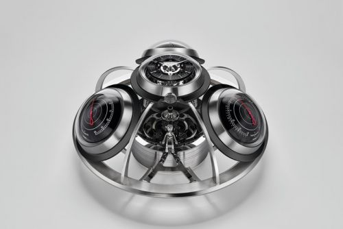 MB&F's Fifth Element Design Is a Timekeeping & Weather-Forecasting Dream