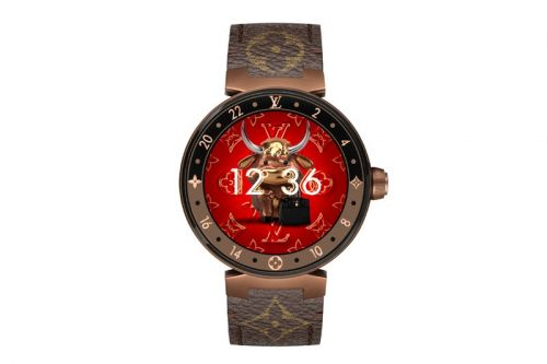 Louis Vuitton Celebrates the Lunar New Year With Year of the Ox Tambour Horizon Watch Face