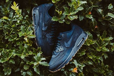 Nike's Air Max 90 Premium Gets Covered in Woven Indigo