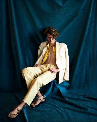 Equilibrium: Inde Mace Dons Spring Tailoring for Essential Homme